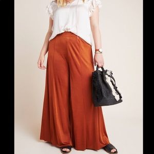 Maeve by Anthropologie Plus Wide Leg Pants